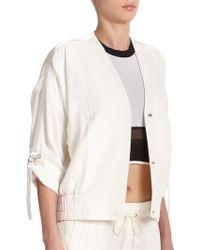 Helmut Lang Blaze Jacket white - Lyst