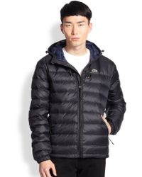 Lacoste Packable Down Jacket - Lyst