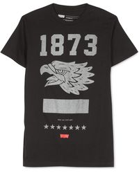 Levi's Drappel Graphic T-Shirt black - Lyst