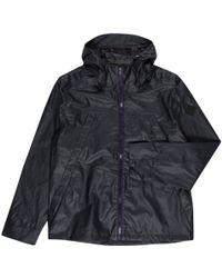 Paul Smith | Men's Dark Navy Waterproof Hooded Jacket | Lyst
