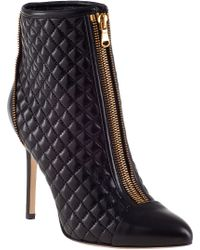 Brian Atwood Astrid Ankle Boot Black Leather - Lyst