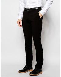 Lindbergh - Trousers In Slim Fit In Black - Black - Lyst