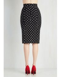 Rock Steady/steady Clothing In - Work Day Darling Skirt In Black - Lyst