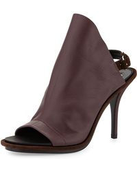 Balenciaga Leather Glove Sandal - Lyst