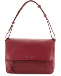 Cole Haan Cameron Leather Shoulder Bag - Lyst