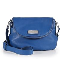 Marc By Marc Jacobs Classic Q Natasha Crossbody Bag blue - Lyst