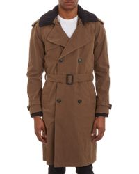 Band Of Outsiders Doublebreasted Trench Coat - Lyst