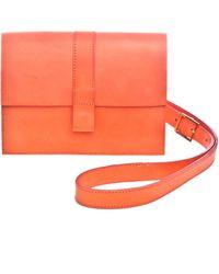 Danielle Foster Charlie Box Coral Crossbody Bag - Lyst