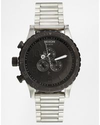 Nixon 5130 Oversized Chronograph Watch - Lyst