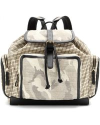 Pierre Hardy - Camouflageprint Backpack - Lyst