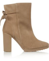 Pierre Hardy Suede Boots - Lyst