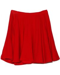 Elle Sasson Red Ivone Skirt - Lyst