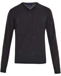 Lanvin Wool-Blend Sweater - Lyst