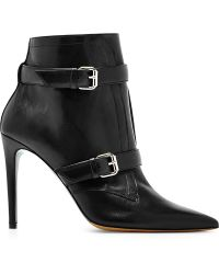 Tabitha Simmons Melody Baby Calf Leather Bootie black - Lyst