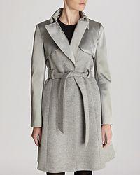 Karen Millen Coat - Classic Investment Collection - Lyst