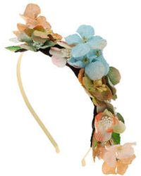 Topshop Velvet Headband multicolor - Lyst