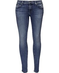 AG Adriano Goldschmied Legging Ankle Jeans blue - Lyst