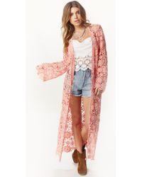 Nightcap Caribbean Crochet Kimono - Lyst