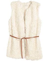 H&M   Faux Fur Gilet   Lyst