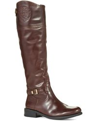 Vince Camuto Kable Riding Boots - Lyst