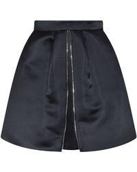 McQ by Alexander McQueen Duchess Satin Full Skirt - Lyst