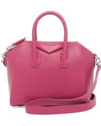Givenchy Antigona Mini Sugar Satchel Bag - Lyst