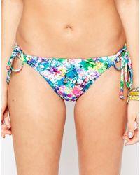 Freya | Paradise Island Rio Tie Side Bikini Bottom | Lyst