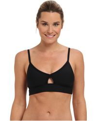 Trina Turk Core Solids Sports Bra - Lyst