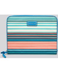 Marc By Marc Jacobs - Ipad Case Coated Canvas Paradise Stripe - Lyst