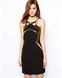 Coast Wixson Dress with Beading - Lyst