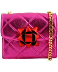 Marc Jacobs Mini-Trouble-Bag pink - Lyst
