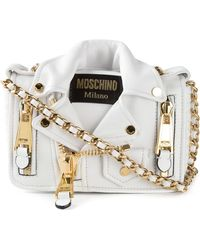 Moschino Smakker Biker Shoulder Bag - Lyst