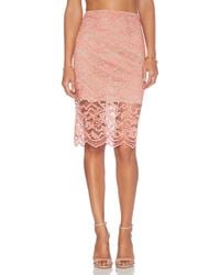 Alexis X Revolve Cesar Pencil Skirt - Lyst