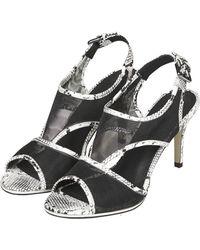 Topshop Womens Naomi Mesh Sandals Multi - Lyst