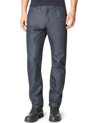 Calvin Klein Dressy Refined Slim-fit Dobby Pants - Lyst