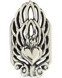 King Baby Studio Sacred Heart Finger Ring - Lyst
