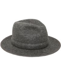 Miharayasuhiro - Adjustable Wool Felt Hat - Lyst