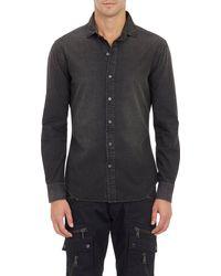 Ralph Lauren Black Label Lightweight Denim Shirt - Lyst