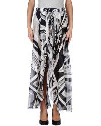 Emilio Pucci 34 Length Skirt - Lyst
