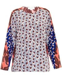 Stella McCartney Moreno Multi-print Top - Lyst