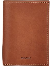 Mismo - Folding Card Holder-Nude - Lyst