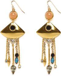 Lizzie Fortunato Jewels Mexico Fringe Earrings - Lyst