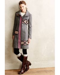 Plenty by Tracy Reese Embroidered Amalia Coat - Lyst