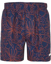 Calvin Klein Hibiscus Swim Short - Lyst