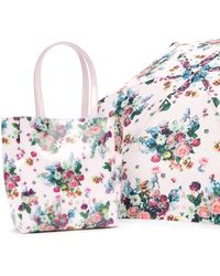 Ted Baker - Marano Floral Umbrella Shopper - Lyst