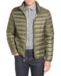 Tumi - 'pax' Packable Quilted Jacket, Green - Lyst