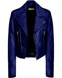 Balenciaga New Classic Biker Jacket - Lyst