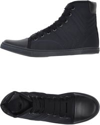 Lanvin High-Tops & Trainers black - Lyst