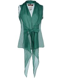 Max Mara Studio Shirt green - Lyst