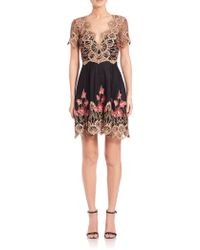 Notte by Marchesa | Poppy Embroidery Dress | Lyst